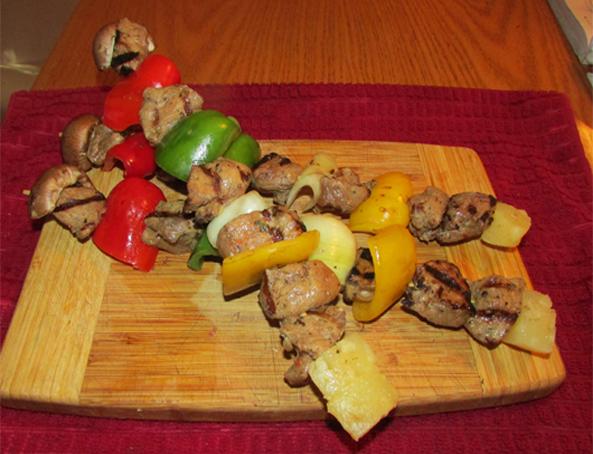 Pork Kabobs